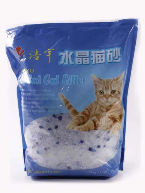 Crystal Cat Litter - Наполнитель Силикагелевый кошачий