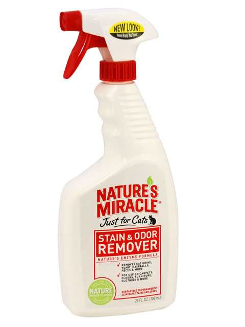 8in1 (8в1) Natures Miracle For Cats Stain&Odor Remover - Уничтожитель запаха и пятен для кошек