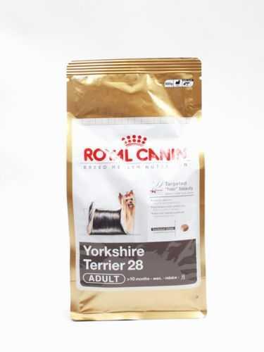 Yorkshire terrier 28 adult корм royal canin