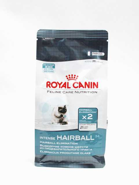 Корм royal canin hairball intense