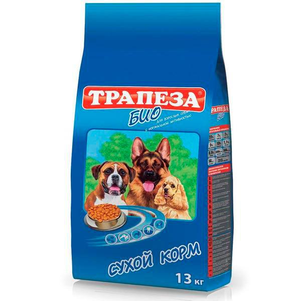 """Сухой корм для собак : Трапеза """"Био"""" сухой корм для собак всех пород"""