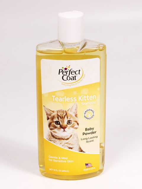 8in1 (8в1) Perfect Coat Tearless Kitten Shampoo - Шампунь