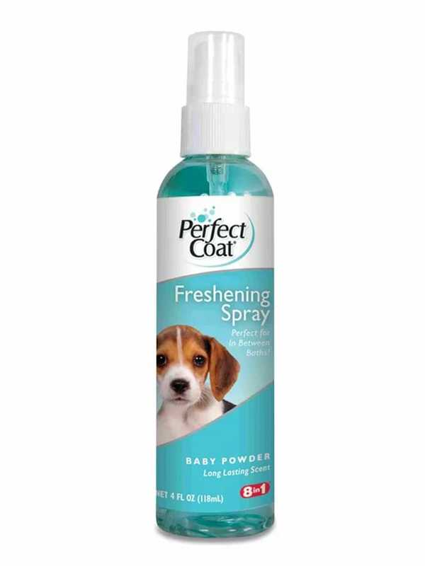8in1 (8в1) Freshening Spray Baby Powder - Спрей для очищения и увлажнения шерсти собак