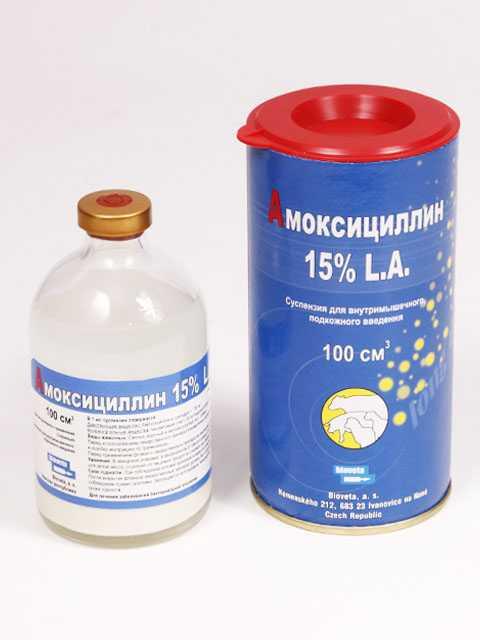 амоксициллин 15 биовета