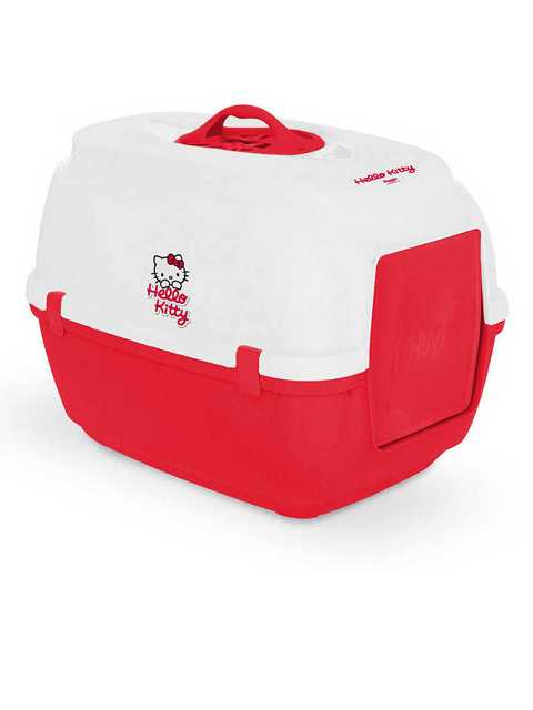Hello Kitty Hooded Cat Litter Tray - Закрытый туалет