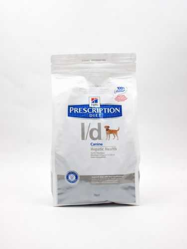 Hills (Хиллс) Prescription Diet l/d Canine - Корм для собак при заболеваниях Печени с Курицей